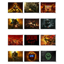 Game Painting Poster Print A3 Size Wall Art Decor For DOOM