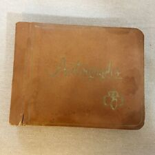 Vintage Brownie, Girl Scout Autograph Book