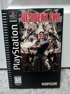 Resident Evil 1996 Longbox Playstation PS1