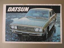 DATSUN RANGE orig 1972 UK Mkt Brochure - 240C 240Z Sports Cherry Bluebird Sunny