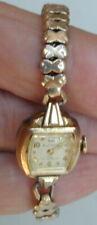 Old Original Lady's Wrist Watch Bulova Self Winding 1950's Very Rare