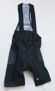 assos Cycling Trail Liner Bib Shorts All Mountain mens size L Large black Padded