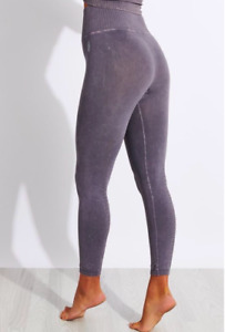 NEW Free People Movement High-Rise 7/8 Good Karma Leggings Grey XS/S-M/L $80