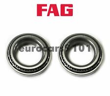 Mercedes 300CE FAG (2) Front Inner Outer Rear Wheel Bearings SET17 103132