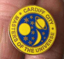 CARDIFF CITY MASTERS OF THE UNIVERSE  ENAMEL PIN BADGE