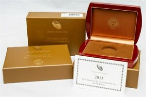 OGP For 2013-W First Spouse Gold Uncirculated $10 - Ida McKinley - No Coin