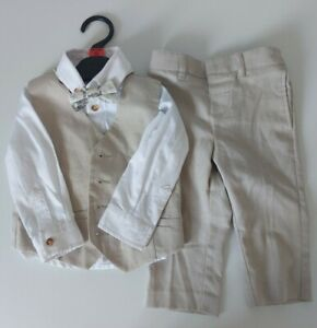 Monsoon Baby Boys Suit - 4 Piece Sized 6-12 Months