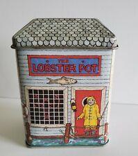 Vintage The Tinsmiths Craft The Lobster Pot Tin Elizabeth Greene Made In England