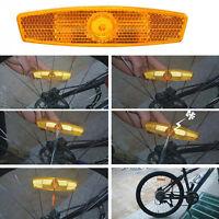 4stk Fahrrad Reflektor.Sicherheit Speichenreflektoren Felgenreflektoren. DE