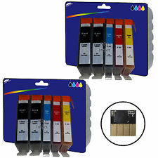 2 Sets + 2 Black non-OEM 364x4 Ink for HP 3070A 3520 4610 4620 4622 5510 5515