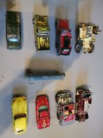 Job Lot 0f Old Toy Cars Diecat Dinky Corgi, & a lone star train carriage