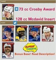 Topps Skate complete Crosby McDavid Ovechkin Subban Matthews Digital nhl