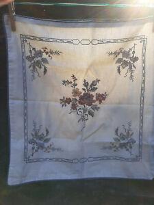 CHAPS Ralph Lauren Wainscott Petite Point CrossStitch-Tiny Stitches-Pillow Cover