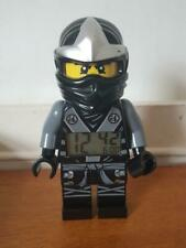 LEGO Ninjago Cole Minifigure Digital Alarm Clock Tested Working Giant Rare Black