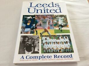 Leeds United Book A Complete Record