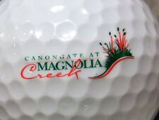 (1) Cannon Gate At Magnolia Creek Golf Course Logo Golf Ball