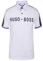 Hugo Boss Kid's Color Block 3D Logo Print Polo Size 6