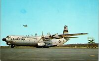 Dover Air Force Base/ U.S. Air Force C-133/ Cargo Master/ chrome postcard