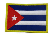 Cuba Cuban Country Flag Wholesale lot of 3 Iron On Patch