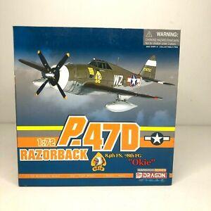Dragon Wings Warbirds Series P-47D Razorback Okie 84th FS 78th FG 1:72 1/72 New