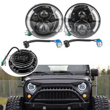 For Jeep Wrangler 2007-17 JK LED Headlight DRL Front Fog Work Light Kit Daytime