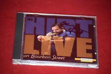 Al Hirt - LIVE on Bourbon Street - Signed Autographed JAZZ CD New Orleans