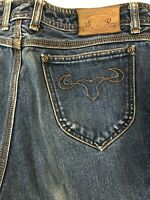 Sergio Valente 32 x 32 Dark Wash 100% Cotton Straight Leg Denim Jeans
