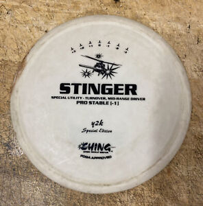 CHING STINGER SPECIAL UTILITY Y2K Special Ed. Mid-Range Driver DISC GOLF Disc