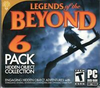 LEGENDS OF THE BEYOND Hidden Object PC Game DISC ONLY NO CASE NO ART EXCELLENT