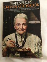 Pearl S. Buck's Oriental Cookbook 1972 1st Printing HC VGC C2