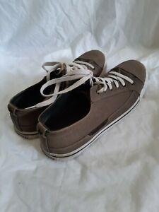 Macbeth Vegan grey Canvas Shoes Mens Size US 13 UK 12
