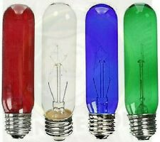 Aquarium Lighting Showcase Light Bulb - Red Blue Green Terrarium Fish Tank Bulb