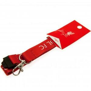 Liverpool Football Club Nylon Lanyard with Metal Clip Official LFC EPL