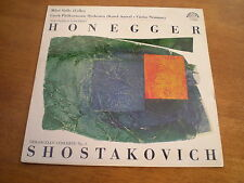 HONEGGER - CONCERTO FOR VIOLONCELLO AND ORCHESTR  = 1110 0604 BLUE LABEL STEREO