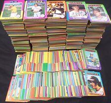1975 Topps Baseball Commons Starter/Partial Set VG Lot of 2100+