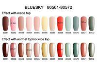 BLUESKY 80571 CLASSIC UV LED Soak Off Gel Nail Polish MATTE & SHINY COLOURS