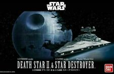 Star Wars Death Star II 1/2700000 & Star Destroyer 1/14500 Model Kit Bandai New*