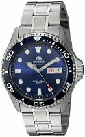 Orient FAA02005D Ray II Automatic Bue Dial Stainless Steel 200m Mens Diver Watch