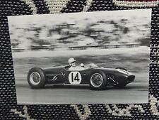Innes Ireland Postal-Lotus 18-Goodwood Pascua 1960