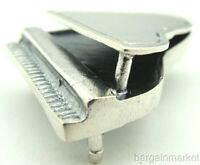 Miniature Sterling Silver Grand Piano #159