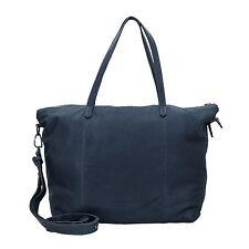 Liebeskind KaetheC7 shopper bag shoulderbag ladies leather 45 cm (dark blue)