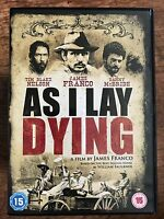 As I Lay Dying DVD 2013 Cult William Faulkner Western Film Movie w/ James Franco