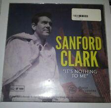 "Sanford Clark Waylon Jennings Zia 7"" gold vinyl Rockabilly Country 45 RSD 2014"