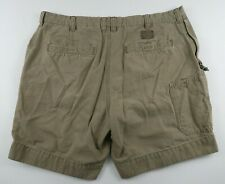 Columbia Mens Solid Beige Outdoor Hiking Camping Khaki Chino Shorts Size 38