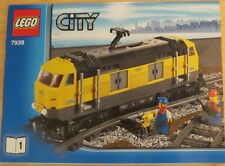 LEGO City 7939 Yellow Cargo Train ENGINE ONLY with PF Power Functions BRAND NEW