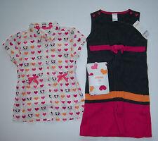 NWT Gymboree Panda Academy Sz 7 Sweater Jumper Dress Heart Blouse Top & Tights