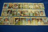 1977 Topps TEXAS RANGERS Complete Set of 26 Cards Gaylord PERRY Blyleven HARRAH