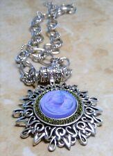 KIRKS FOLLY DREAM ANGEL Magnetic Enhancer  necklace (Antique Silvertone)  rare