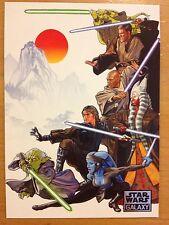 Topps 2012 Star Wars Galaxy Series 7 #52 Jedi A La Kurosawa New Visions MINT