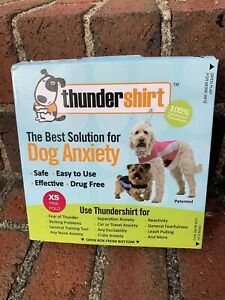 Thundershirt Behavior Modification Shirt for Dogs 8-14 lbs HPXST01   XS Pink
